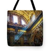 Saint Peter's Beams Of Light Tote Bag