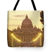 Saint Peters Cathedral In The Vatican Tote Bag