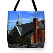 Saint Peters Roman Catholic Church In Harpers Ferry West Virginia Tote Bag