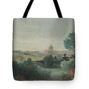 Saint Peter's Seen From The Campagna Tote Bag