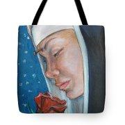 Saint Rita Of Cascia Tote Bag