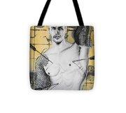 Saint Sebastian Tote Bag by Carmine Santaniello