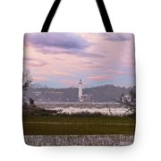 Saint Simon Island Lighthouse Tote Bag