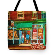 Saint Viateur Bakery Tote Bag