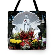 Saint Virgin Mary Statue #2 Tote Bag