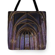 Sainte Chapelle Stained Glass Paris Tote Bag