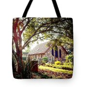Saintly Sunset Tote Bag