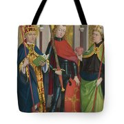 Saints Gregory Maurice And Augustine Tote Bag