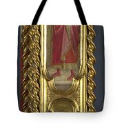 Saints Nicholas Damian And Margaret   Right Pilaster Tote Bag