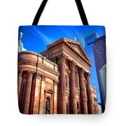 Saints Peter And Paul In Philadelphia   Tote Bag