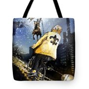 Saints Summit In New Orleans Tote Bag