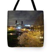 Sakura Night Tote Bag