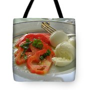 Salad Caprese Tote Bag