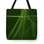 Salad Computer Graphic Line Pattern Tote Bag