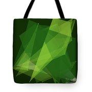 Salad Polygon Pattern Tote Bag