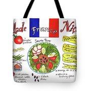 Salade Nicoise Tote Bag by Diane Fujimoto