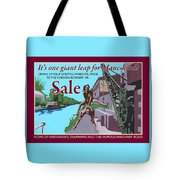 Sale Poster By Eric Jackson, Statement Artwork Tote Bag