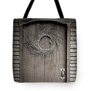 Salem Door Tote Bag