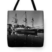 Salem Friendship Reflection Black And White Tote Bag