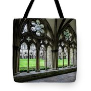 Salisbury Cathedral Cloisters Tote Bag