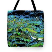 Salmon Run 7 Tote Bag