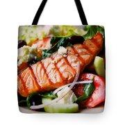 Salmon Salad Tote Bag