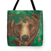 Salmonberry Bear Tote Bag