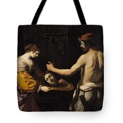 Salome Receiving The Head Of St John The Baptist Tote Bag