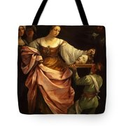 Salome With The Head Of St John Baptist 1640 Tote Bag