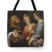 Salome With The Head Of St. John The Baptist Tote Bag