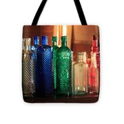 Saloon Bottles Tote Bag