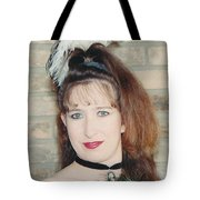 Saloon Girl Tote Bag
