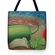 Salsa Across Texas Tote Bag