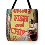 Salt And Vinegar Tote Bag