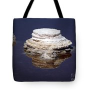 salt cristal at the Dead Sea Israel  Tote Bag