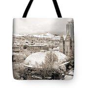 Salt Lake City Landmarks Tote Bag