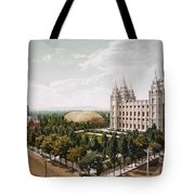 Salt Lake City Tote Bag