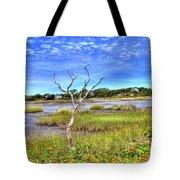 Salt Marsh Tote Bag