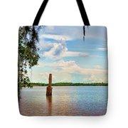 Salt Mine Disactor Monument Jefferson Island Louisiana  Tote Bag