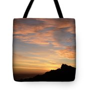 Salt Point Sunset Tote Bag