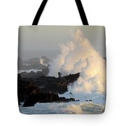 Salt Point Wave Tote Bag