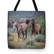 Salt River Wild Horses-img_747217 Tote Bag