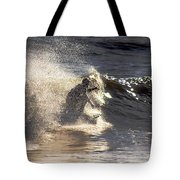 Salt Spray Surfing Tote Bag