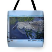 Salt Water Ballet - Manatees - 2 Tote Bag