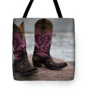 Salt Water Boots Tote Bag