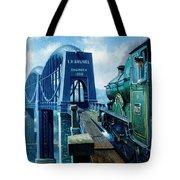 Saltash Bridge. Tote Bag
