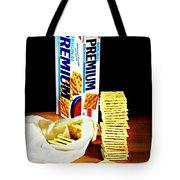 Saltine Crackers Tote Bag