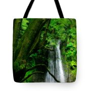 Salto Do Prego Waterfall Tote Bag