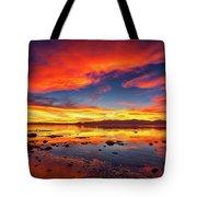 Salton Sea Sunset Tote Bag