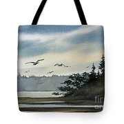 Saltwater Bay Tote Bag